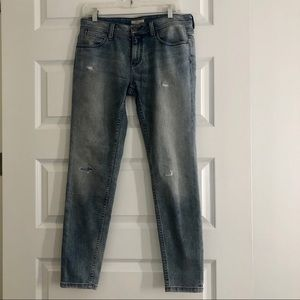 NWT Burberry Brit Distressed Jeans